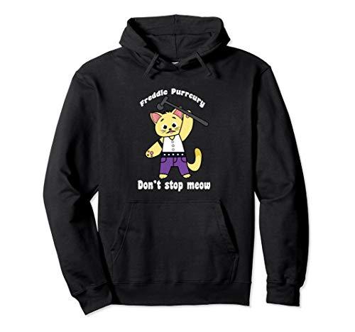 Freddie Purrcury product Don't Stop Meow lustig Katze Pullover - Urkomisch Katze Kostüm