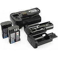 DSTE Multi-Puissance Vertical Batterie Poignée Titulaire pour Pentax K-3 K3 DSLR Caméra comme D-BG5 avec 2-pack D-LI90