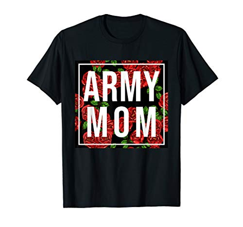 Inspired Army Mom Outfit Ladies US Army Mom Armed Forces T-Shirt - Military Physical Training-t-shirt