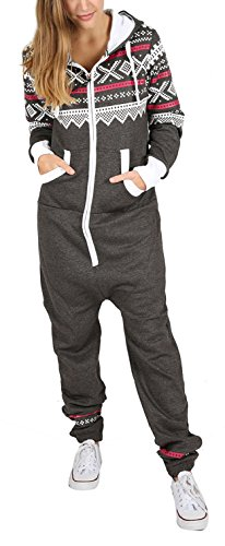 Juicy Trendz Frauen One Zip Jumpsuit