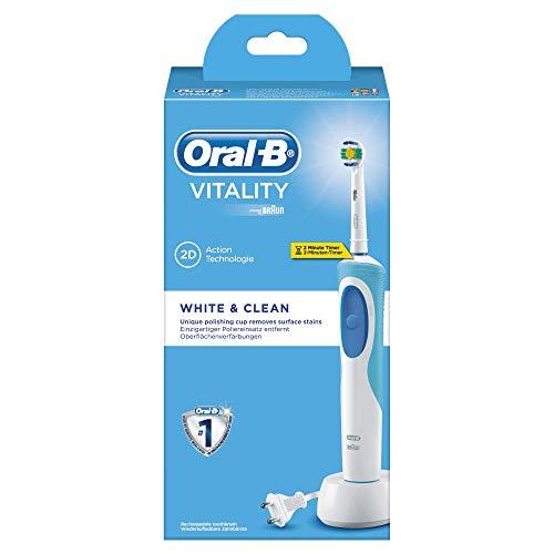 Oral-B Vitality White&Clean Spazzolino Elettrico Ricaricabile