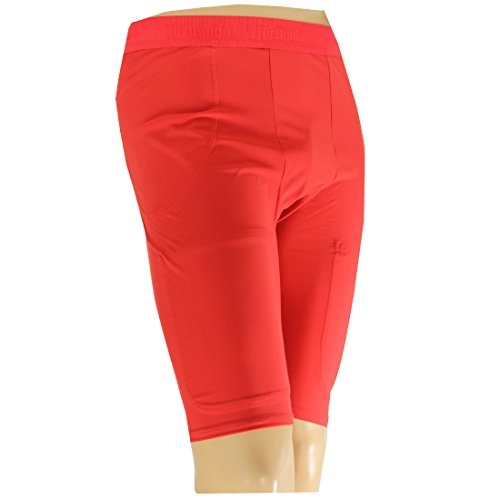McDavid 750T Herren Pro Model Football Compression Girdle Shorts Scarlet Red L -