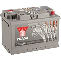 YUASA - BATTERIE YUASA YBX5096 SILVER 12V 80Ah 760A