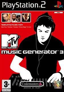 MTV Music Generator 3 ps2 PlayStation 2