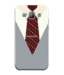 Samsung Galaxy J1 (6) 2016, Samsung Galaxy J1 2016 Duos, Samsung Galaxy J1 2016 J120F, Samsung Galaxy Express 3 J120A, Samsung Galaxy J1 2016 J120H J120M J120M J120T Back Cover Executive Dress With Tie Design From FUSON