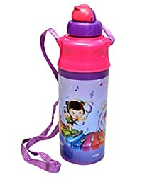 Milton Kool Spark Plastic Water Bottle, 500ml, Violet