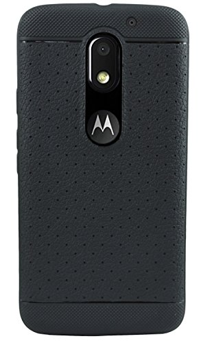 Parallel-Universe-Leather-like-Textured-TPU-Dotted-Grip-cover-for-Moto-E3-Power-3rd-Generation