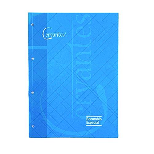 Cervantes PB235-04 - Cuaderno recambio 4 taladros