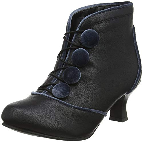 Joe Browns Damen Bewitching Unique Bootees Stiefeletten, Schwarz (Black A), 42 EU