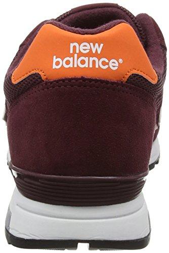 New Balance Herren Ml565wo-565 Laufschuhe Mehrfarbig (Burgandy/OrangeBurgundy/Orange)