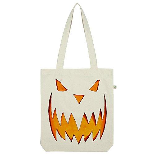 Halloween Kürbis Tasche Weiß weiß ()