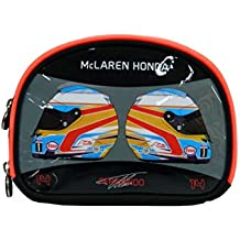 McLaren Honda - Fernando Alonso Pencil Case - Talla - 45x42x33 - Color - Negro