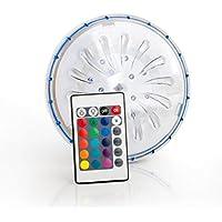 Gre PLED1C - Proyector LED Color para Piscina elevada de Acero