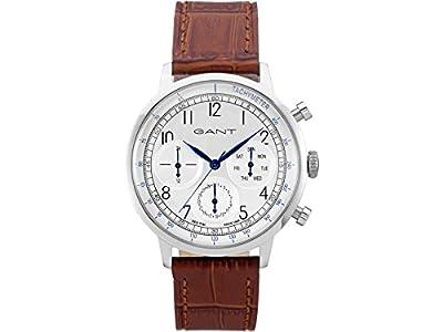 Tendedero time hombre-reloj analógico de cuarzo cuero CALVERTON W71202 de GANT TIME