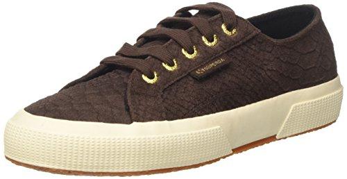 Superga Damen 2750 Fglanacondaw Sneaker, Braun (Brown Coffee), 36 EU (Canvas Coffee Dark)