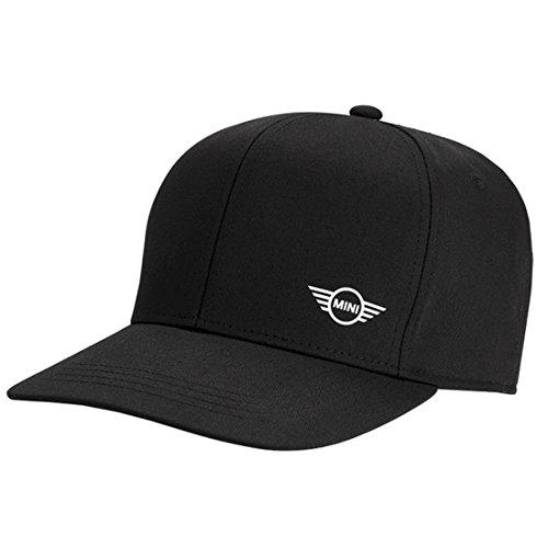 Original MINI Cap Kappe Signet schwarz (Miniatur-baseball-kappen)