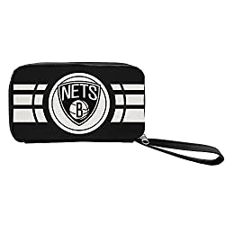 NBA Brooklyn Nets Ripple Zip Wallet