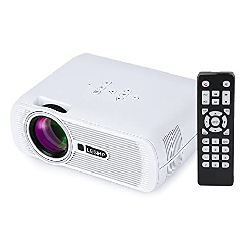Vidéoprojecteur Tsing BL80-Advanced Mini Projecteur 1300 LM(Max) Portable TFT LCD LED Full HD 1080P 130