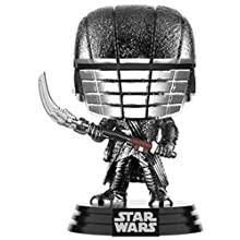 Funko 47243 POP Star Wars The Rise of Skywalker: -KOR Scythe (Hematite Chrome) Sammelbares Spielzeug, Mehrfarben