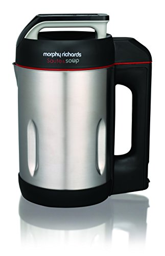 Morphy Richards 310000 1.6-Litre Saute and Soup Maker (Metallic Steel)