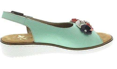 Rieker , Sandales pour femme Vert