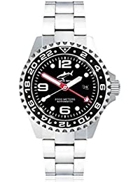 Chris Benz Deep 2000m Automatic GMT CB-2000A-D1-MB Automatic Mens Watch Diving Watch