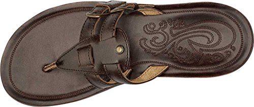 Olukai Woman Sandal Honokaa Java Brown Brown