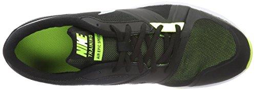 Nike 819003-006, Scarpe da Ginnastica Air Epic Speed Uomo Nero (Nero / Bianco-Volt)