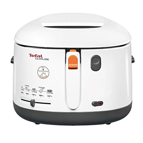 41dk0RgGBRL. SS500  - Tefal Filtra One Deep Fryer, (5 Portions), 1.2 Kg Capacity, 1900 W, Exclusive Oil Filter, White