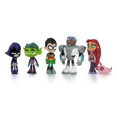 Jazwares Teen Titans Deluxe 6er Packung [UK Import]