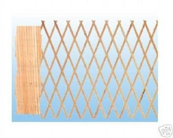 Biacchi Treillage en bois extensible 2x1