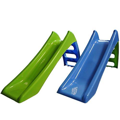 Kinderrutsche Garten Kinder Rutsche Rutschbahn Outdoor Gartenrutsche Wasser Baby (grün)