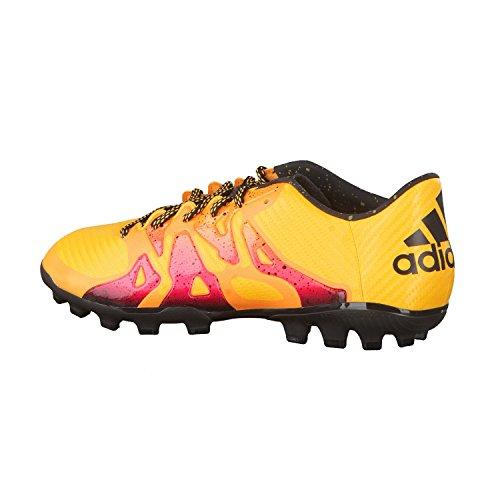 adidas X 15.3 Ag, Chaussures de Football Homme, Mehrfarbig Orange / Noir / Rose (Dorsol / Negbas / Rosimp)