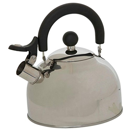 Vango 2 Litre Camping Kettle, Silver, One Size Best Price and Cheapest