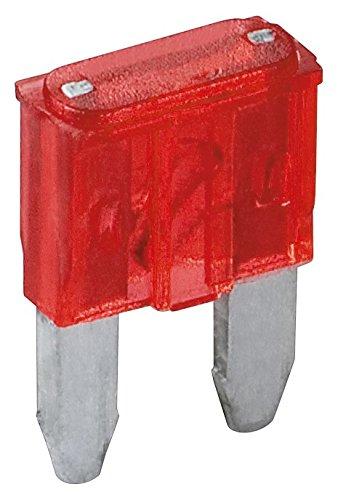 Fixpoint 20389 Kfz-Sicherungssortiment Mini, 10 A, Rot (6-er pack) -