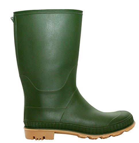 Damen Green Jungen A Mädchen crepe Arbeits amp;h Footwear gummistiefel RqngnZ4