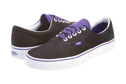 Vans U Era Vqfk62a, Unisex - Erwachsene Pop Língua Sneaker Preto / Hlotrop