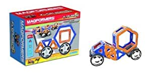Magformers Xl Cruisers Car Set (Colors May Vary) With Silver Borders - For Instant Connection & Fun Jouets, Jeux, Enfant, Peu, Nourrisson