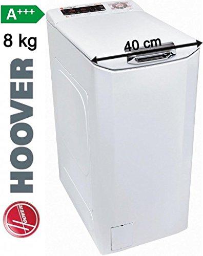 HOOVER Toplader 8KG Waschmaschine 40cm 1200 U/min A+++ Display Startzeitvorwahl