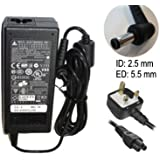 NEW REPLACEMENT AC ADAPTER 19V 3.42A 65W MAINS CHARGER POWER SUPPLY UNIT FOR ...