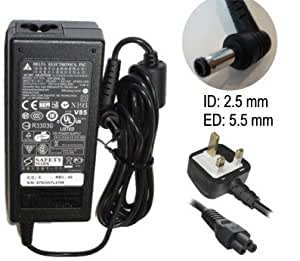 BRAND NEW ADVENT 7111 LAPTOP AC ADAPTER 19V 3.42A 65W MAINS CHARGER POWER SUP...