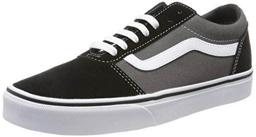 Vans Herren Ward Sneaker, Mehrfarbig ((Suede/Canvas) Black/Pewter Ug7), 40.5 EU