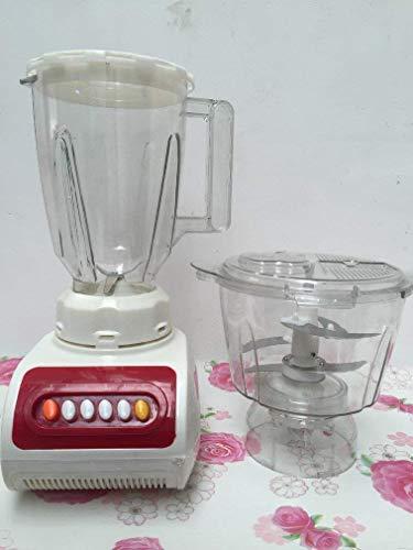 Fruchtmischer Fleischwolf Haushalt Elektrische Edelstahl Fleischwolf Multifunktions-Soja-Milch-Maschine Multifunktions-Soja-Milch Lebensmittel Geschenk, O&YQ, Weiß -