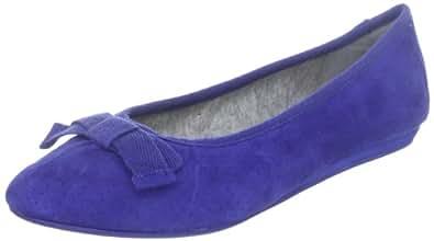 Marc O'Polo 53 23MW53952, Damen Ballerinas, Blau (peacock 858), EU 37 1/3 (UK 4.5)