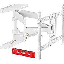 ONKRON M6L BLK Support TV Mural pour Téléviseur LCD LED OLED Plasma De 40 A 70 Pouces Blanc