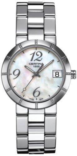 Certina C009.210.11.112.00–Montre bracelet pour femme, bracelet en acier inoxydable multicolore