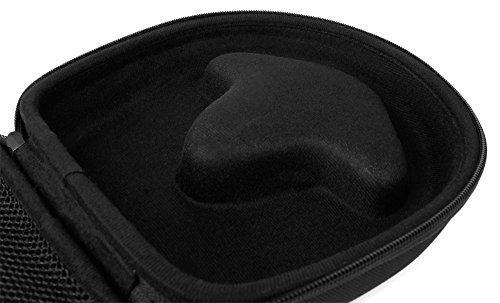 DURAGADGET Schwarzes Hard Case für JBL Tune/Everest/Synchros/Duet BT / E35 / E55BT / T450 / T450BT / C45BT Kopfhörer - 5