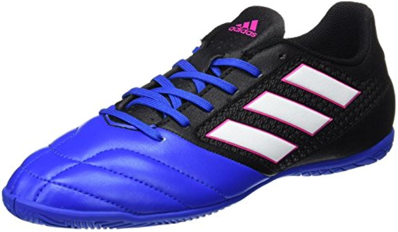 adidas Herren Ace 17.4 in BB1767 Futsalschuhe  Schwarz Negbas/ftwbla/Azul  42 EU
