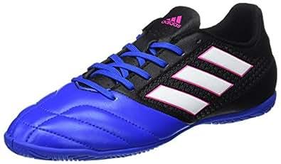 adidas Herren Ace 17.4 in BB1767 Futsalschuhe Schwarz (Negbas/ftwbla/Azul) 40 EU
