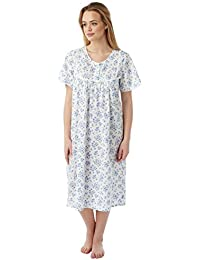 Undercover Ladies Marlon Poly Cotton Short Sleeve Nightdress Nightie MN11  Size 10-30 34d2469b3